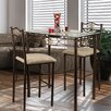 <strong>Hazelwood Home</strong> 3 Piece Counter Height Pub Table Set