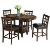 Hazelwood Home Charleston 5 Piece Dining Set