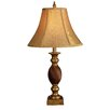 "<strong>Hazelwood Home</strong> 25"" H Mahogany Table Lamp"