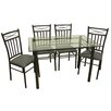 <strong>Hazelwood Home</strong> Dinette 5 Piece Set