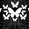 Kreme LLC California Butterflies Wildlife Wallpaper Sample