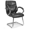 Medium Back Visitor Chair with Chrome Cantilever