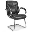 <strong>Enduro</strong> Medium Back Visitor Chair with Chrome Cantilever