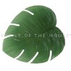 <strong>Philodendron Leaf Placemat</strong> by Front Of The House