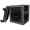 <strong>Deluxe Amplifier Rack System Case Shock Mount with Caster Board</strong> by Road Ready Cases