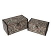 <strong>Cheungs</strong> 2 Piece Flat Top Keepsake Boxes Set