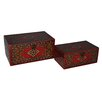 Cheungs 2 Piece Carpet Treasure Box Set