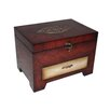 "<strong>9.75"" Wooden Jewelry Box with 1 Drawer</strong> by Cheungs"