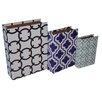 Cheungs 3 Piece Multi Pattern Book Box Set