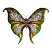 "32"" Wide Butterfly Wall Art in Multicolor"