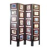 "Proman Products 67"" x 54"" Oscar Picture Folding Screen 4 Panel Room Divider"
