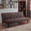 DHP Charleston Vintage Futon and Mattress