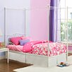 DHP Twin Metal Canopy Bed