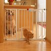<strong>Extra Wide Pet Gate with Pet Door</strong> by Carlson Pet Products