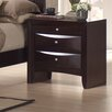 Greystone Avery 3 Drawer Nightstand