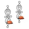 <strong>Danya B</strong> Wire Twisted Candle Sconce (Set of 2)