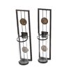 Danya B Contemporary Wall Sconce Candle Holder (Set of 2)