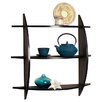 Danya B 3 Tier Half Moon Wall Shelf