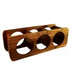 Enrico Acacia 3 Bottle Wine Rack