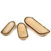 <strong>Enrico</strong> Mango Canoe Serving Tray (Set of 3)