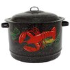 Graniteware 19-qt Stock Pot with Lid