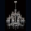 <strong>Eurofase</strong> Villa 20 Light Crystal Chandelier