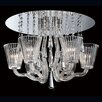 <strong>Corato 6 Light Flush Mount</strong> by Eurofase