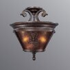 Casanova 3 Light Semi Flush Mount