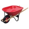 <strong>United General Supply CO., INC</strong> 6 Cu. ft. Steel Tray Wheelbarrow