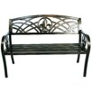 <strong>Metal Fleur De Lis Bench</strong> by United General Supply CO., INC