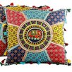 <strong>Novica</strong> The Lalit Kumar Cotton Floor Cushion Cover