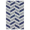<strong>Trellis Blue Shelly Rug</strong> by nuLOOM