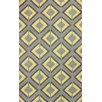 nuLOOM Cine Yellow and Grey Darlene Area Rug