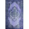 <strong>Remade Overdyed Purple Chroma Overdyed Style Rug</strong> by nuLOOM