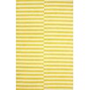 nuLOOM San Miguel Lemon/Ivory Scully Area Rug