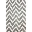 nuLOOM Cloud Gray / White Area Rug