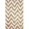 nuLOOM Cloud Tan / White Area Rug