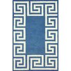 nuLOOM Filigree Blue/White Santorini Area Rug