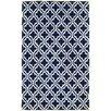 nuLOOM Venice Dark Blue/White Vesemy Area Rug