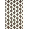 nuLOOM Heritage Ravi Dark Grey/White Geometric Area Rug