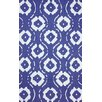 nuLOOM Mina Hand Hooked Cotton Blue Area Rug