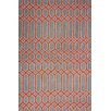 nuLOOM Europe Wendy Red/Grey Area Rug