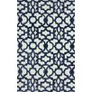 nuLOOM Filigree Mykonos Blue/White Area Rug