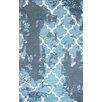 nuLOOM Filigree Turquoise Antika Area Rug