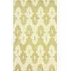 nuLOOM Honor Hand Hooked Cotton Gold Area Rug