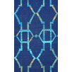 nuLOOM Darby Flatwoven Blue Area Rug