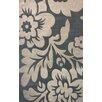 nuLOOM Cine Bold Floral Slate Rug