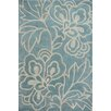 <strong>Cine Lotus Blue Rug</strong> by nuLOOM