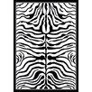 nuLOOM Zebra Print Black/White Area Rug