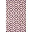 nuLOOM Flatweave Lavender Espallier Rug